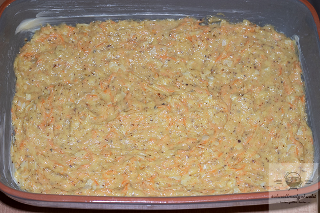 Karottenkuchen Blondies